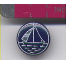 Sailboat Button
